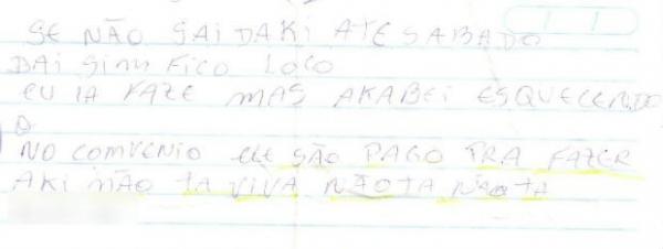 Paciente morto em UTI diz em carta que