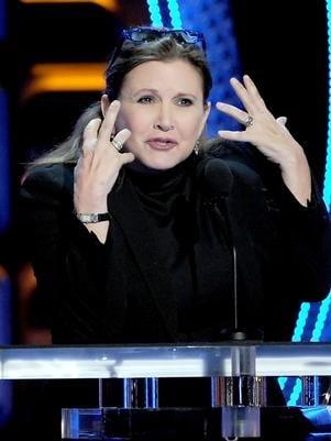 Atriz Carrie Fisher é internada após crise bipolar