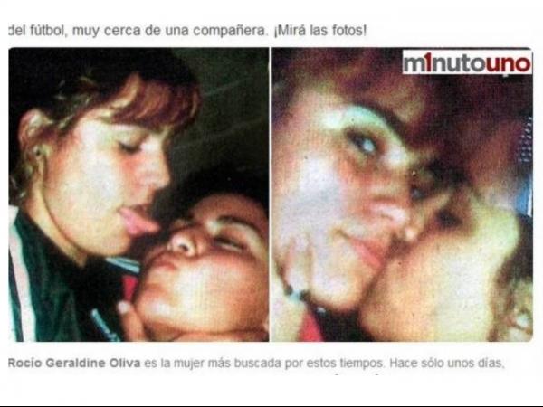 Jornal publica fotos de namorada de Maradona beijando outra mulher