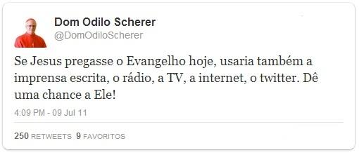 Sereno e conciliador, D. Odilo Scherer é o mais novo dos papáveis brasileiros
