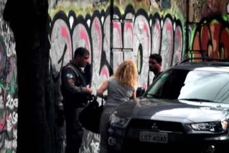 Arlete Salles leva dura da polícia após manobra perigosa