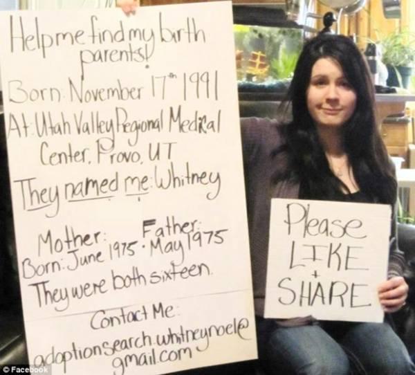 Mulher faz campanha no Facebook para encontrar sua mãe biológica
