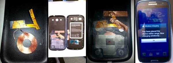 Galaxy S3 passa a ser carregado sem fios após modificação de hacker