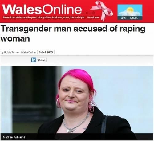 Homem à espera da mudança de sexo é acusado de estupro no País de Gales