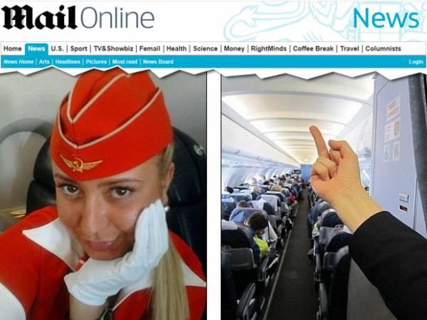 Comissária é demitida após postar foto mostrando dedo a passageiros