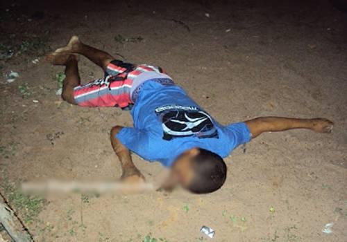 Filho de 18 anos de traficante é executado com dois tiros no litoral do Piauí
