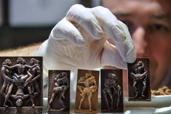 Francês cria chocolates inspirados em posições sexuais do Kamasutra
