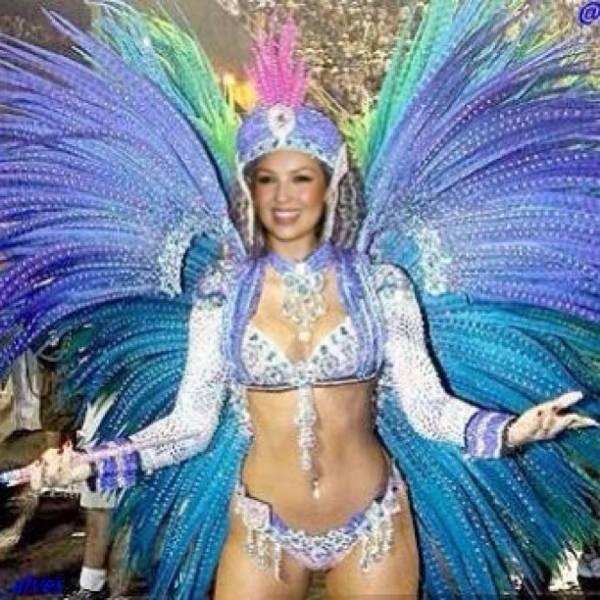 Thalia deve passar carnaval no Rio: