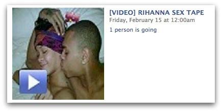 Vírus no Face engana usuários com suposto vídeo de sexo da Rihanna