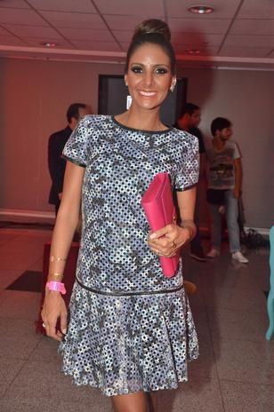 Grávida, namorada de Eike Batista participa de evento de moda