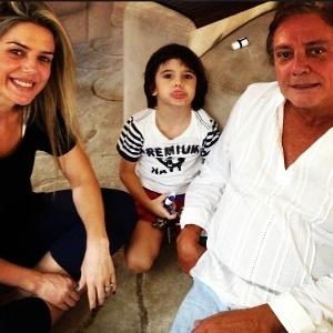 Assessora diz que relação de Mari Alexandre e Fábio Jr. é amigável