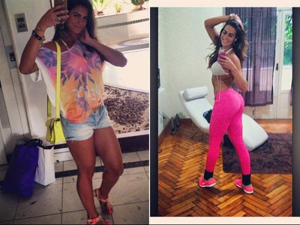 Com um corpão, Renata Molinaro diz que não é a favor de dietas restritivas