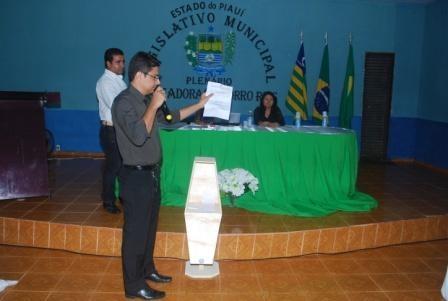 Vereadores aprovam projetos importantes para Baixa Grande do Ribeiro - Imagem 8