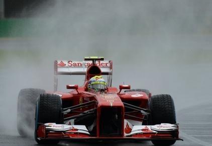 Em dia de frustração na F1, Massa e Hamilton rodam e admitem sorte