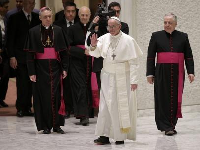 Inspirado, Papa diz que nome vem de São Francisco de Assis