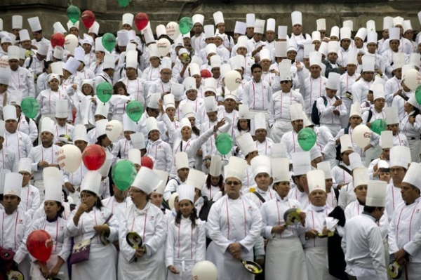 Por recorde, encontro reúne 2.340 chefs de cozinha na Cidade do México