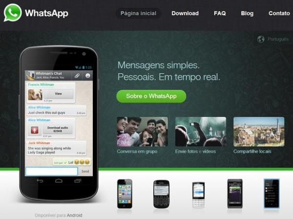 Aplicativo WhatsApp vai cobrar anuidade para usuários do iPhone