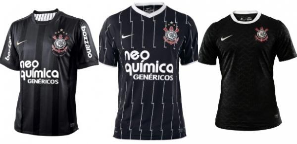 Corinthians voltará a usar camisa listrada em preto e branco ainda neste ano