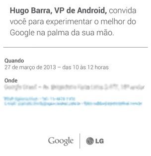 Rival do iPhone 5 e S4, Nexus 4 será apresentado no Brasil dia 27