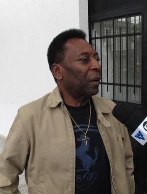 Filho de Pelé é registrado no Peixe, e Rei já sonha: