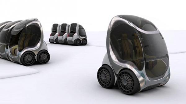 Empresa cria carro dobrável para aluguel contra congestionamentos