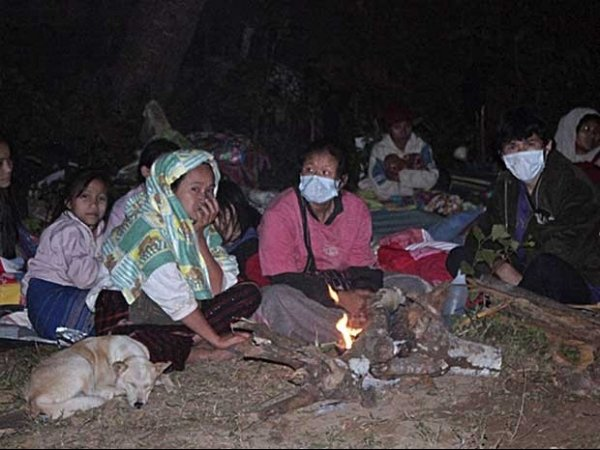 Vai a 62 o nº de mortos após incêndio em campo de refugiados na Tailândia