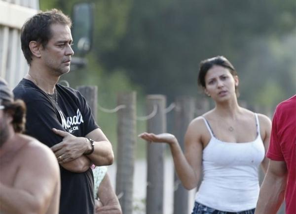 Marcello Antony e a mulher estão bem