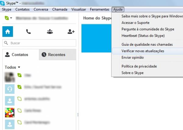 Veja como atualizar o Skype