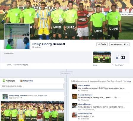 Torcedores invadem página de juiz no Facebook após expulsão de Seedorf