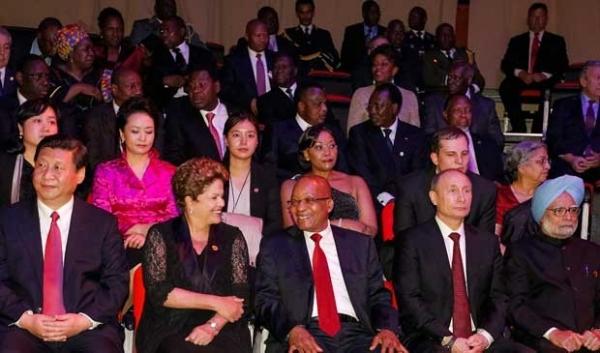 Dilma Rousseff participa de cerimônia de abertura da 5ª Cúpula dos Brics