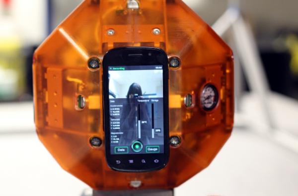 NASA utiliza smartphones Nexus como cérebro de seus robôs espaciais