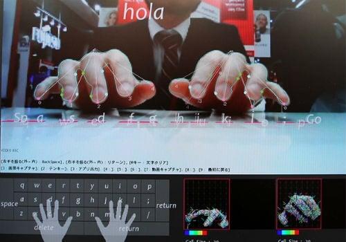 Teclado virtual invisível vira realidade em smartphones e tablets