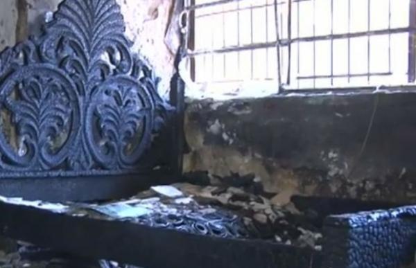 Vizinhos tentaram apagar incêndio que matou casal de idosos