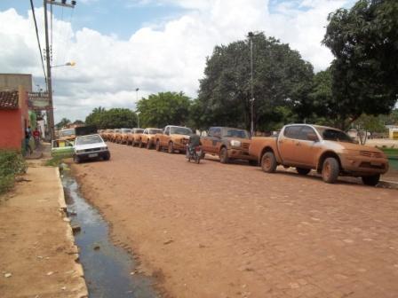 Baixa Grande do Ribeiro recepciona o Rally Ceagro em sua 8ª edição