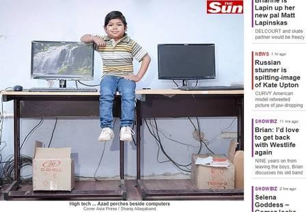 Com 91cm de altura, indiano é o menor professor do mundo
