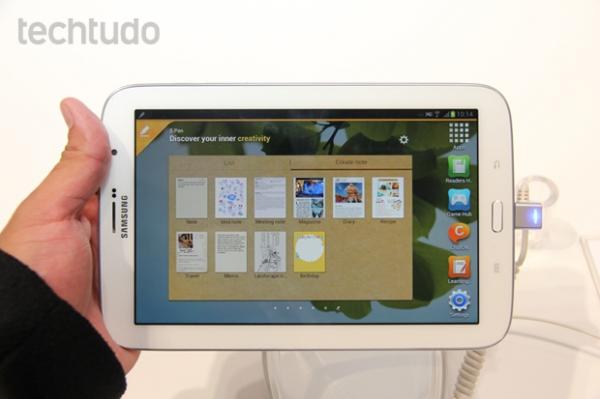 Galaxy Note 8.0 chega ao Brasil no próximo mês, revela Samsung
