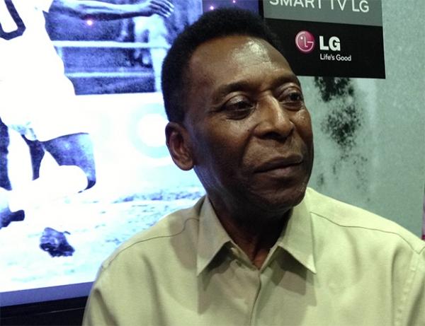 Pelé 70: Rei do futebol ganha novo aplicativo em Smart TV da LG