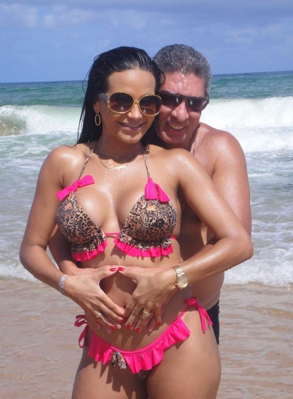 Após traição, Shayene Cesário e noivo trocam declarações na areia