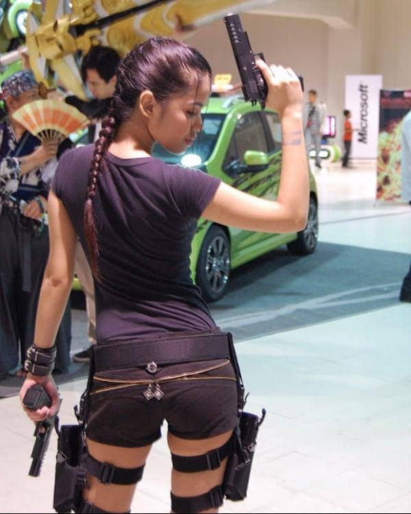 Belas e sexy; as melhores cosplayers de Lara Croft, da série Tomb Raider