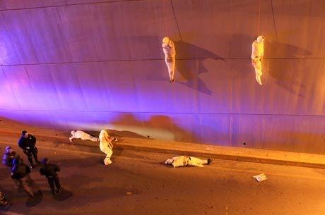 Cinco corpos enrolados como múmias são encontrados no norte do México