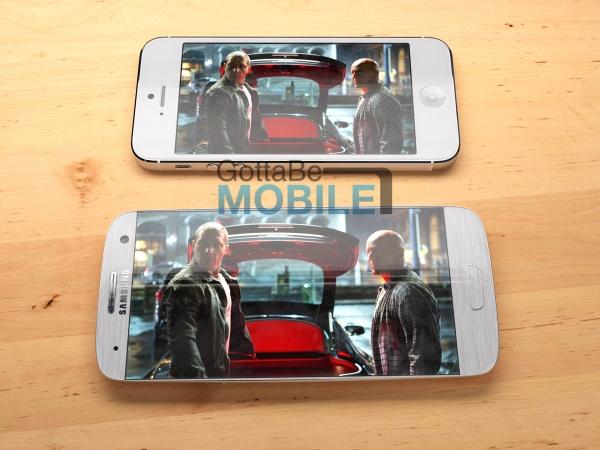 Maior que o iPhone 5: Galaxy S4 ganha conceito baseado em rumores