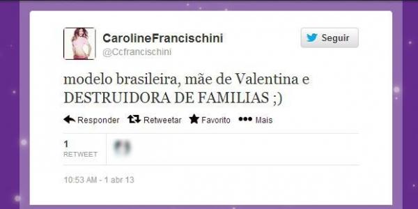 Carol Francischini desabafa em rede social sobre polêmica com seu nome