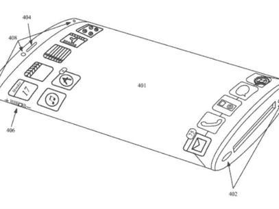 Futuro iPhone pode ter tela curva e sem botões; patente já foi registrada