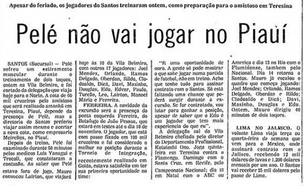 No Piauí, Santos usa Neymar para pagar