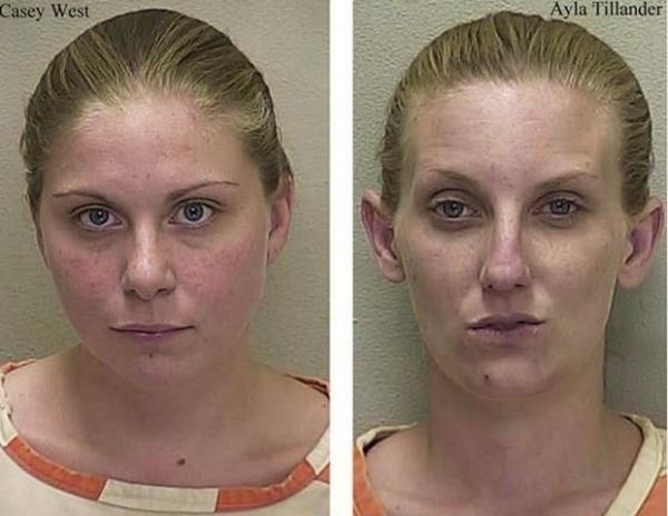 Dupla de mulheres usa drogas ao visitar preso, é flagrada e fica por lá mesmo