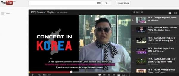 Sul-coreanos falam mais da nova música de Psy que da tensão nuclear