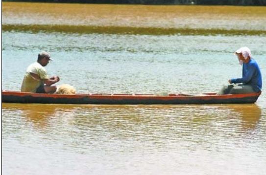 Devido poluição, peixes estão sumindo dos rios no Piauí