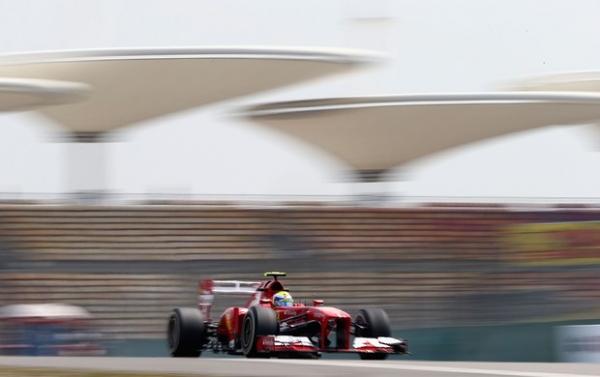 Massa é o mais rápido na sexta-feira de treinos livres para o GP da China