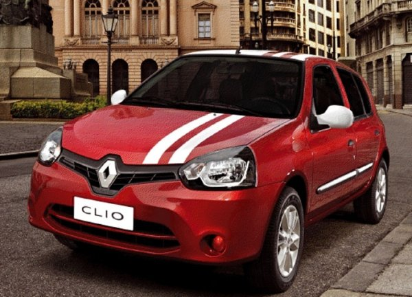Neste sábado a Renault e Via Paris oferecem novo  Clio com taxa zero em 36 meses
