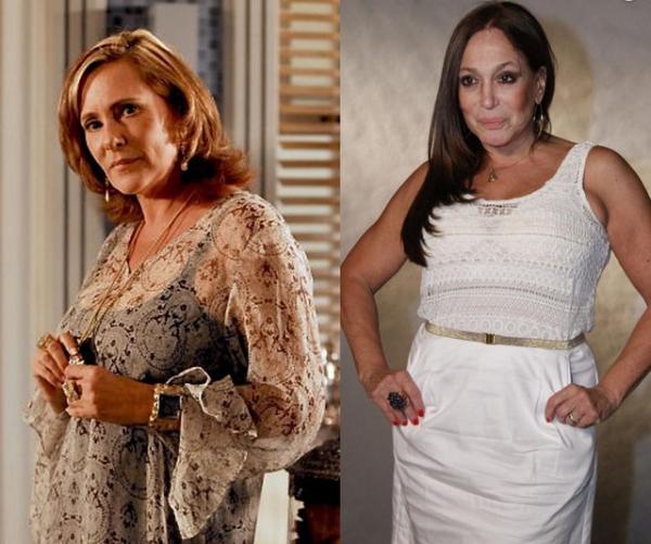 Globo busca manter paz entre Susana Vieira e Elizabeth Savalla